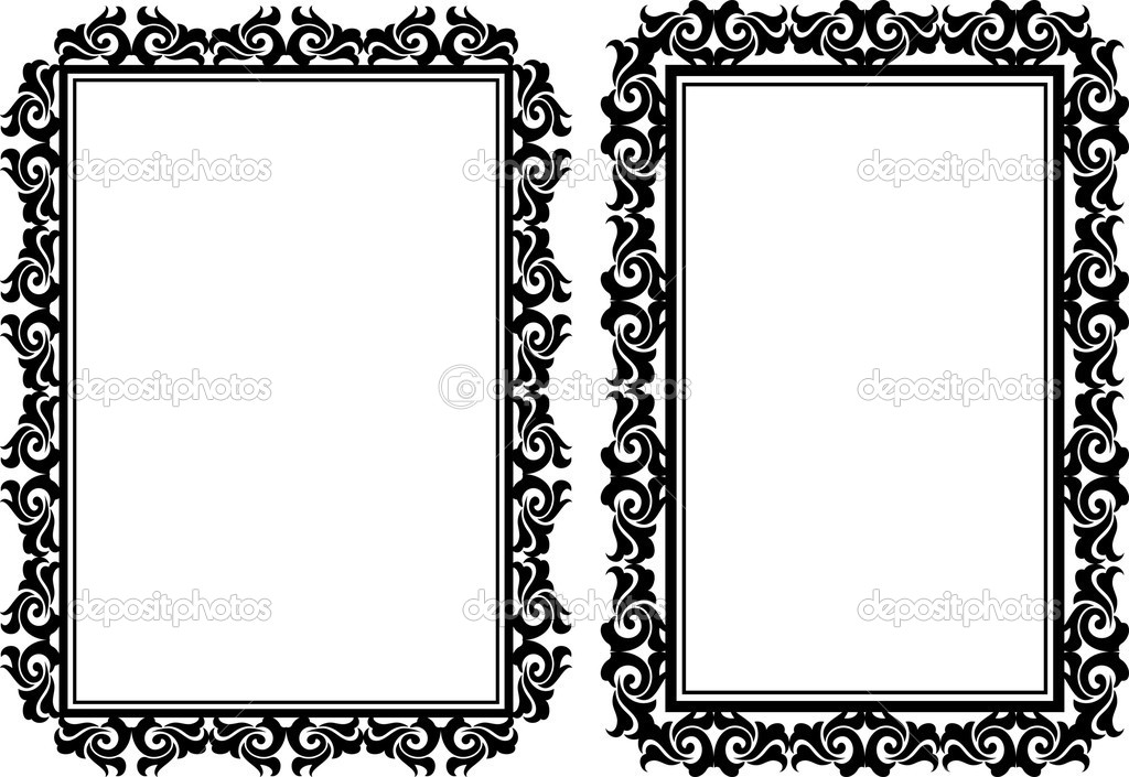 rectangular frames — Stock Vector © mtmmarek #29514983