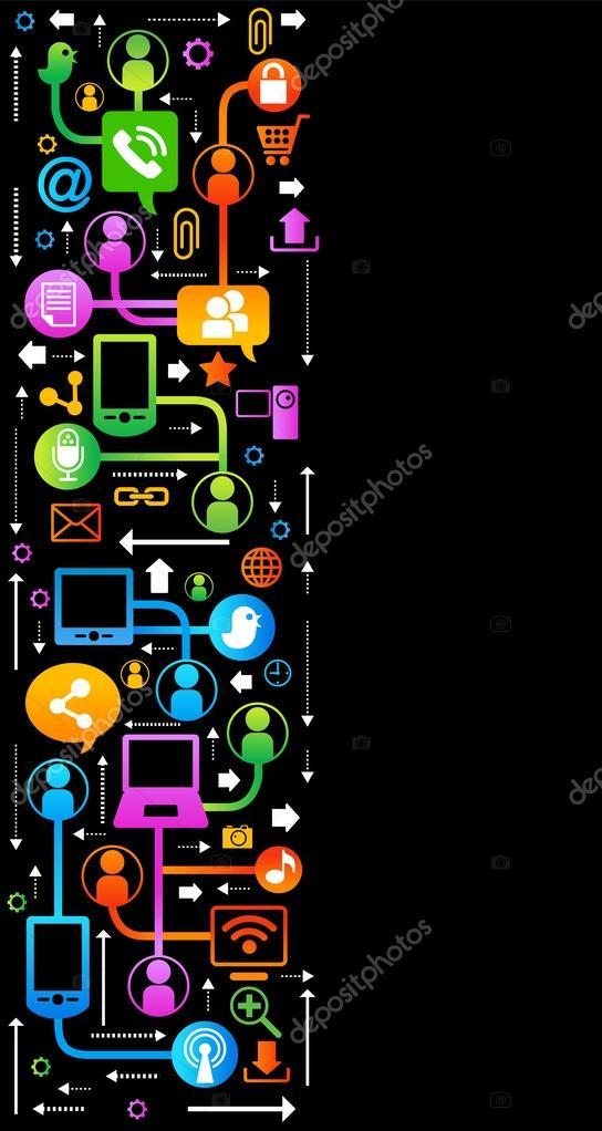 background Internet vertical