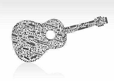 notes guitar