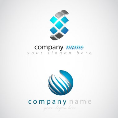 Company (Business) 3d vector Logo
