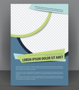 Vector brochure, flyer, magazine, poster and cover empty template