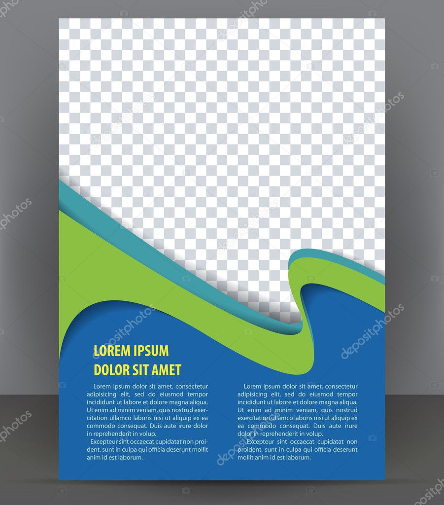 Vector Brochure Flyer Magazine Folder T Shirt Cover: Magazine, Flyer, Brochure And Cover Layout Design Template