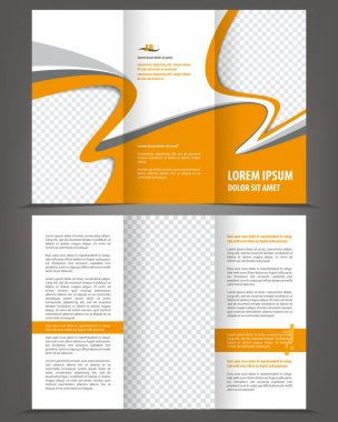 Brochure print template design