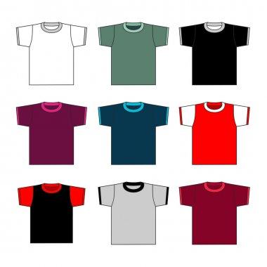 T-shirts set.