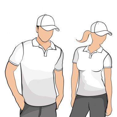 T-shirts men and women.