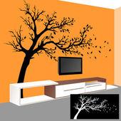 Fotografie Art Wall Interior.