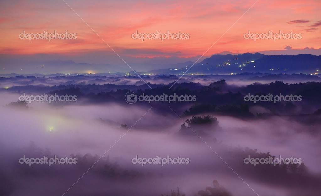Beautiful mountains and cloud
