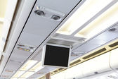 displej v letadle