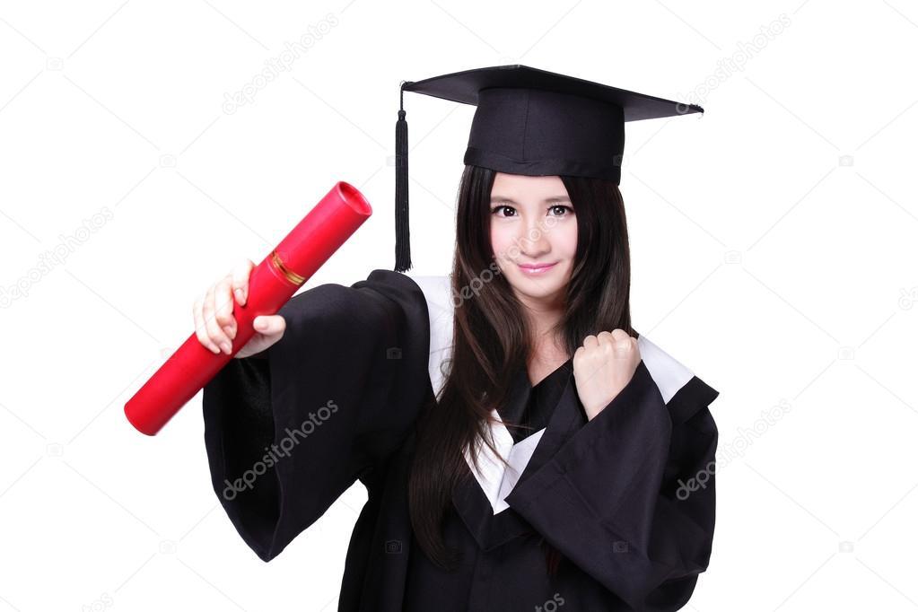 Postgraduální studentka