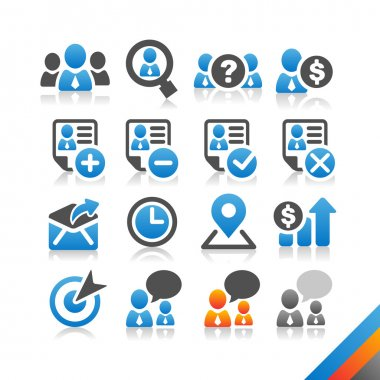 Business Human Resource icon vector
