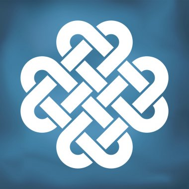Decorative Celtic Love Knot