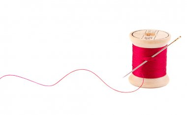 Sewing thread and needle