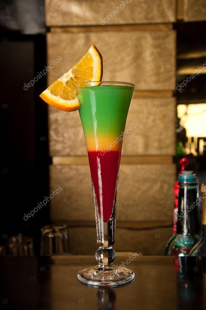Алкогольные коктейли с сиропом
