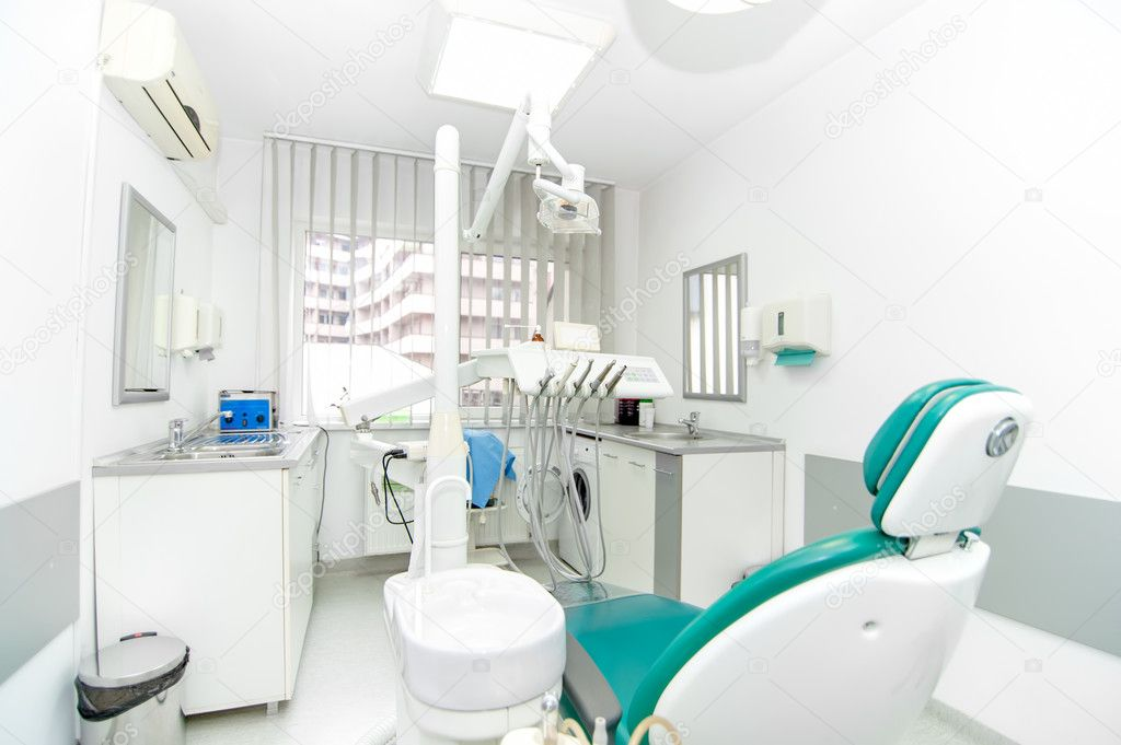 Dental clinic interior design with working tools and for Interior decoration tools