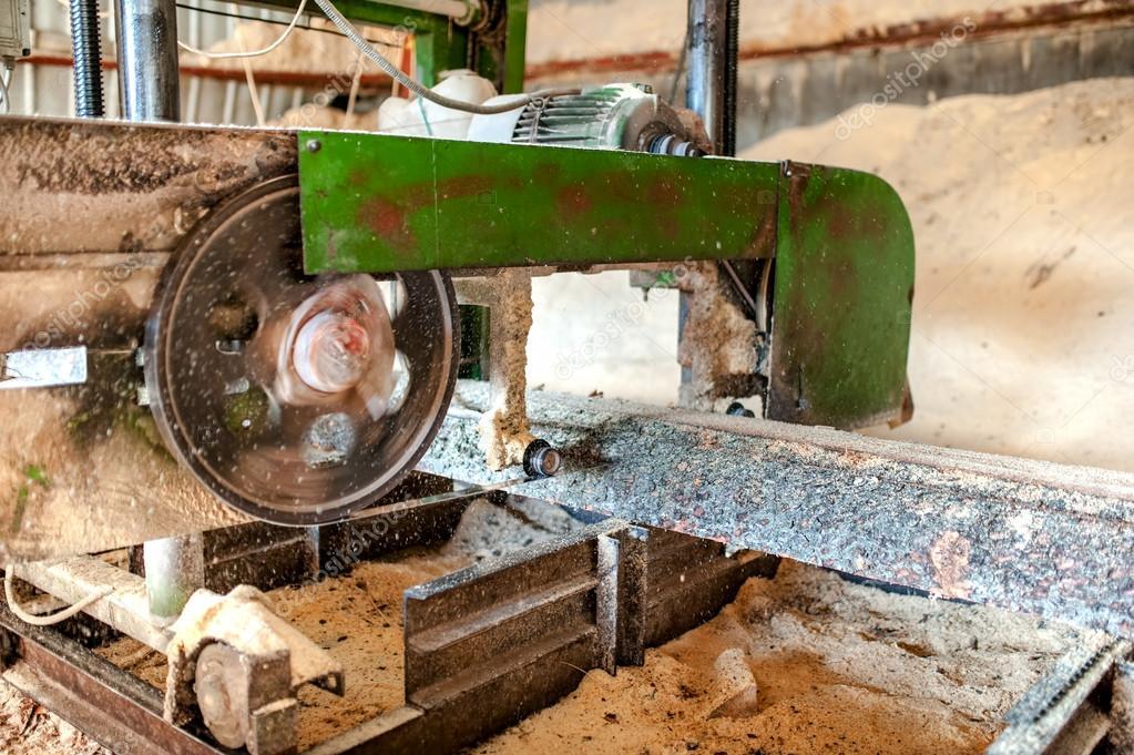 F brica de producci n de madera industrial close up de - Fabricas de madera ...
