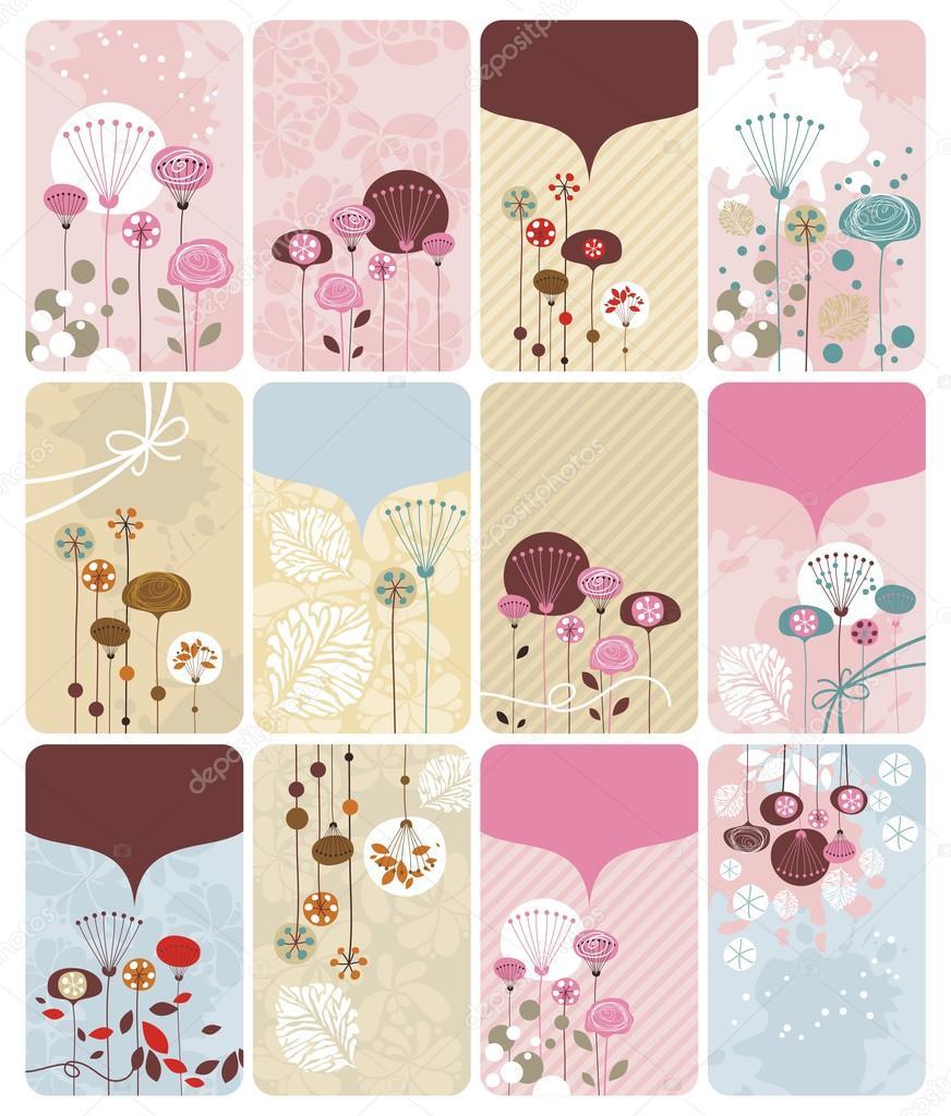 Seasonal Floral Gift Cards