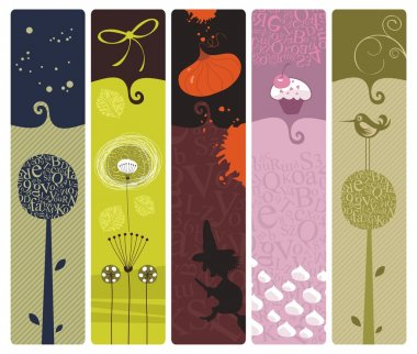 Various Bookmarks or Banners