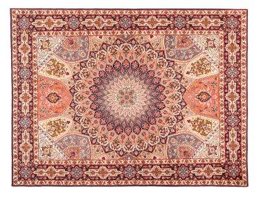 Asian Carpet Texture. Classic Arabic Pattern