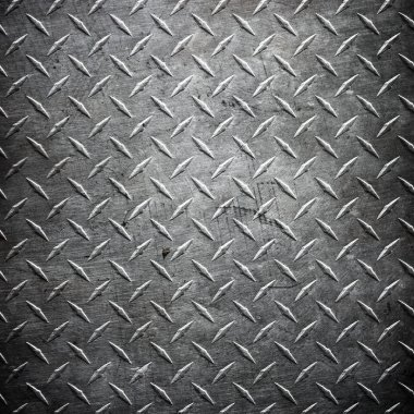 Diamond plate metal texture abstract industrial background stock vector