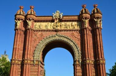 Arc de Triomf of Barcelona, Spain