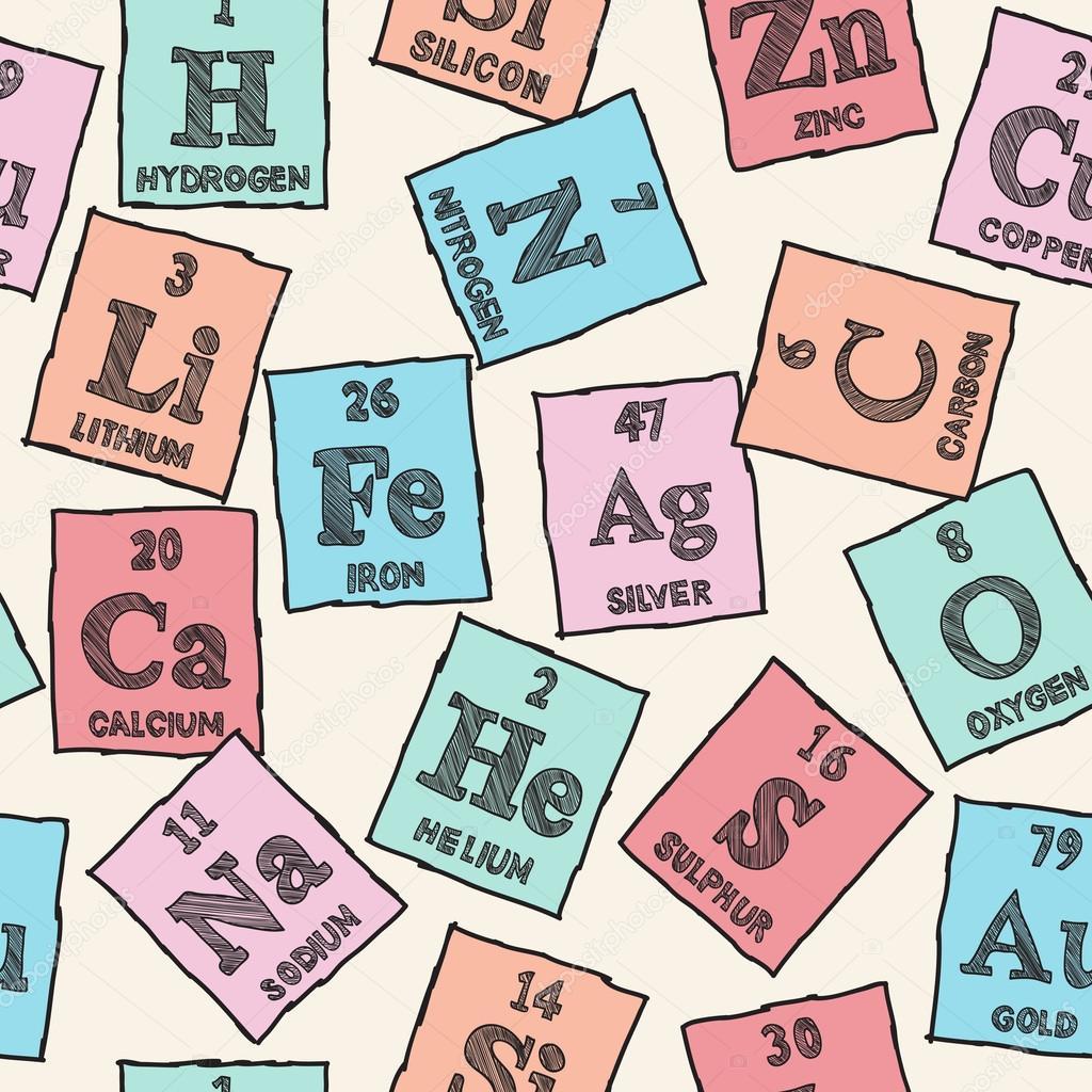 Patrn sin costuras elementos qumicos tabla peridica archivo fondo transparente de elementos qumicos tabla peridica vector de kytalpa urtaz Choice Image
