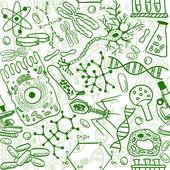 Biológia zökkenőmentes minta