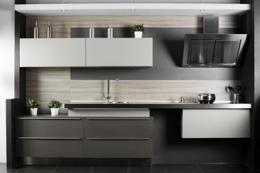 brand new modern kitchen