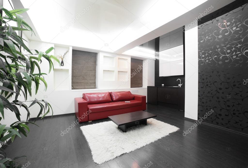 Moderne kamer interieur in felle kleuren u2014 stockfoto © fiphoto #36668599
