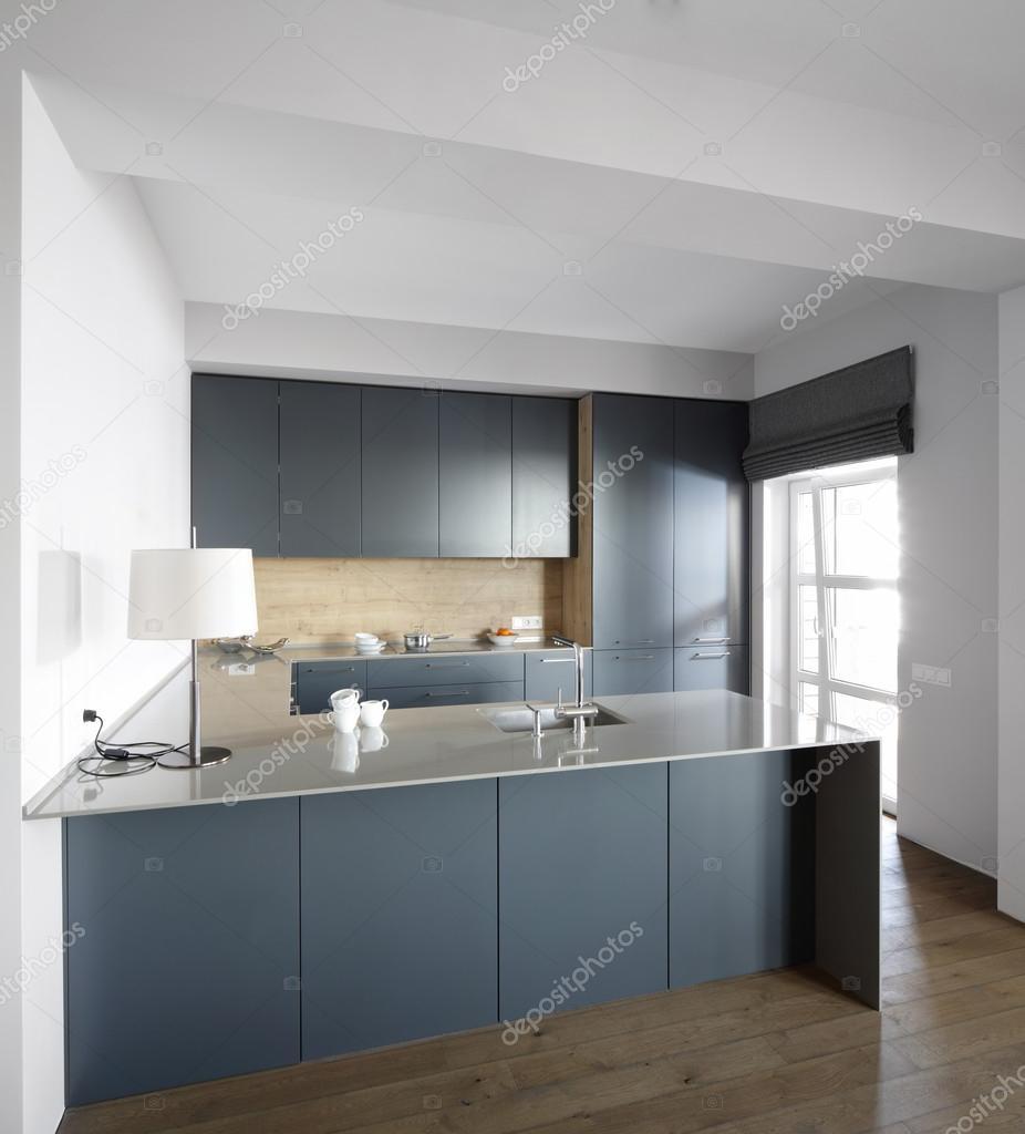 Interior Da Cozinha Moderna Europeia Stock Photo Fiphoto 45234795