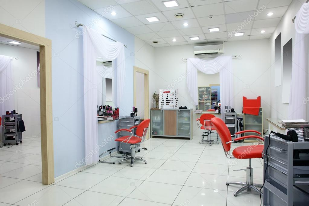 Interior Of Modern Beauty Salon Stock Photo Fiphoto