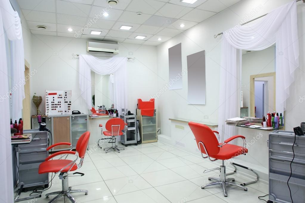 Interieur des modernen Beauty-salon — Stockfoto © fiphoto #49745859