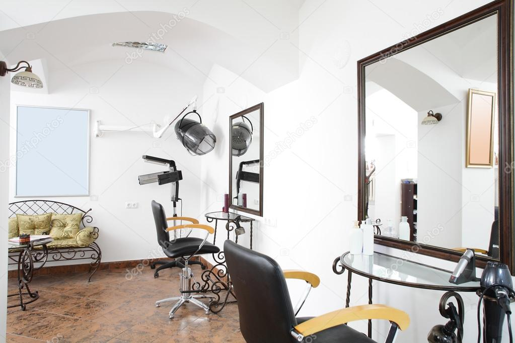 Interieur des modernen Beauty-salon — Stockfoto © fiphoto #50733817