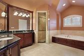 Fotografie Hlavní koupelna v luxusní dům