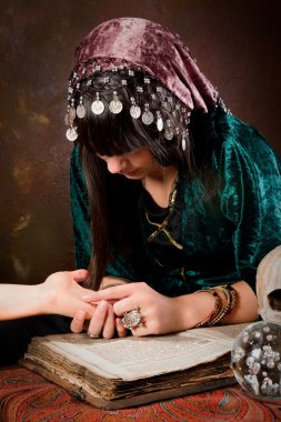 Palmistry hand-reading