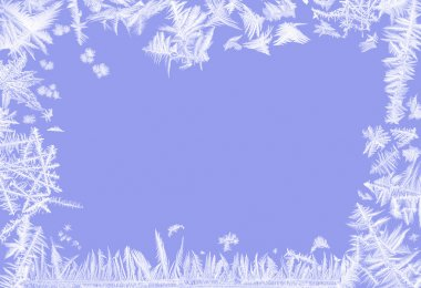 Frosty border