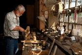 Napfény a carpenter fészer