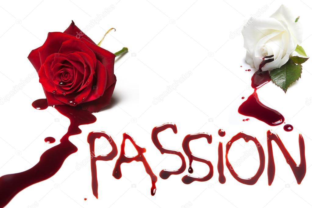Bleeding roses for Passion