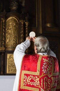 Vintage catholic mass