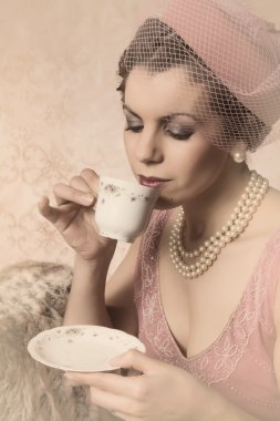 Vintage twenties woman