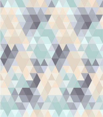 Seamless geometric pattern in pastel tints #1