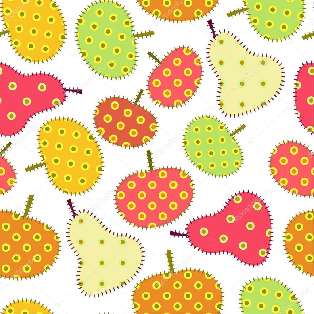 Autumn fruits ornament
