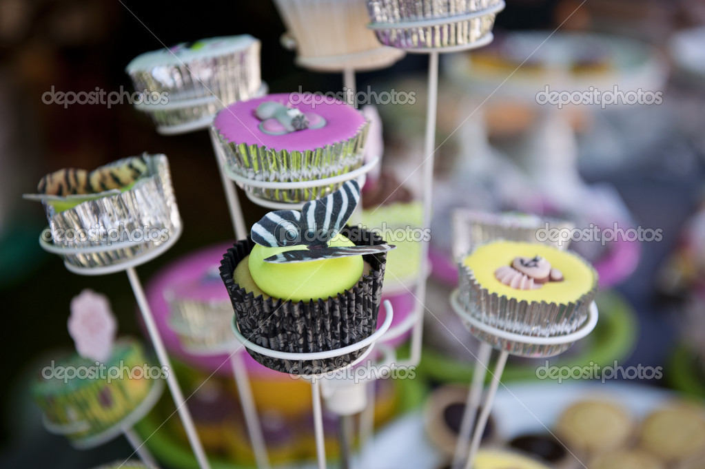 Cupcakes On A Stand Stock Photo C Vannphotography 26186951