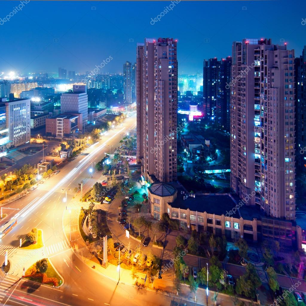 Фотообои Shanghai Night
