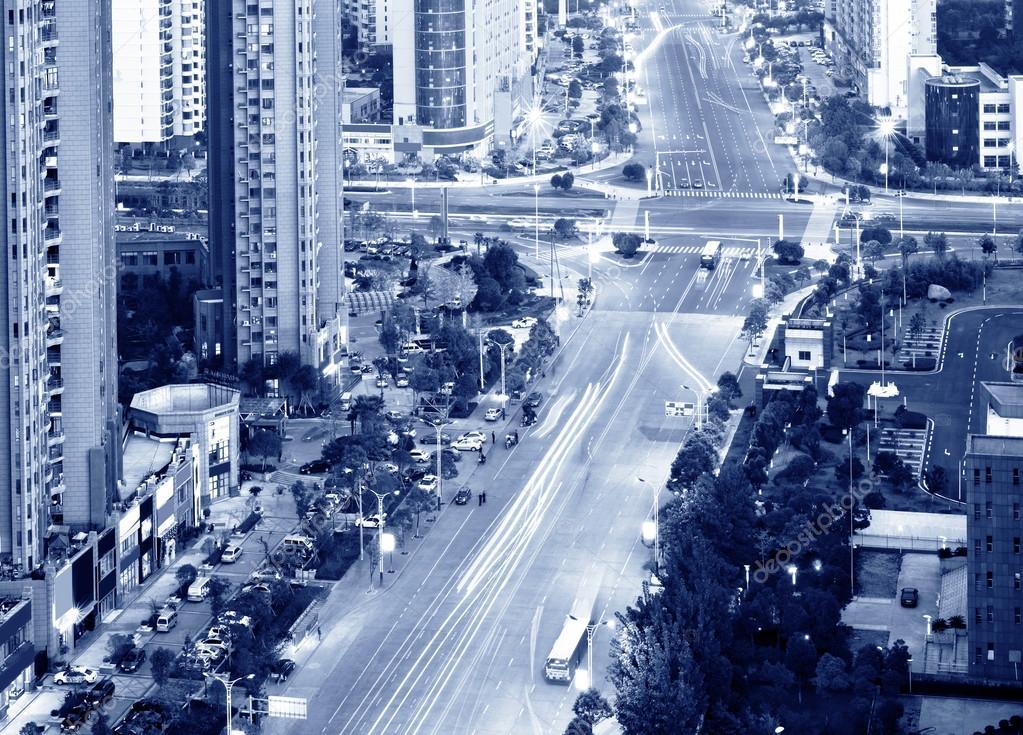 Фотообои Aerial view of city