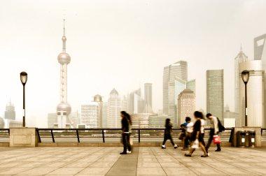 Bund in Shanghai, China