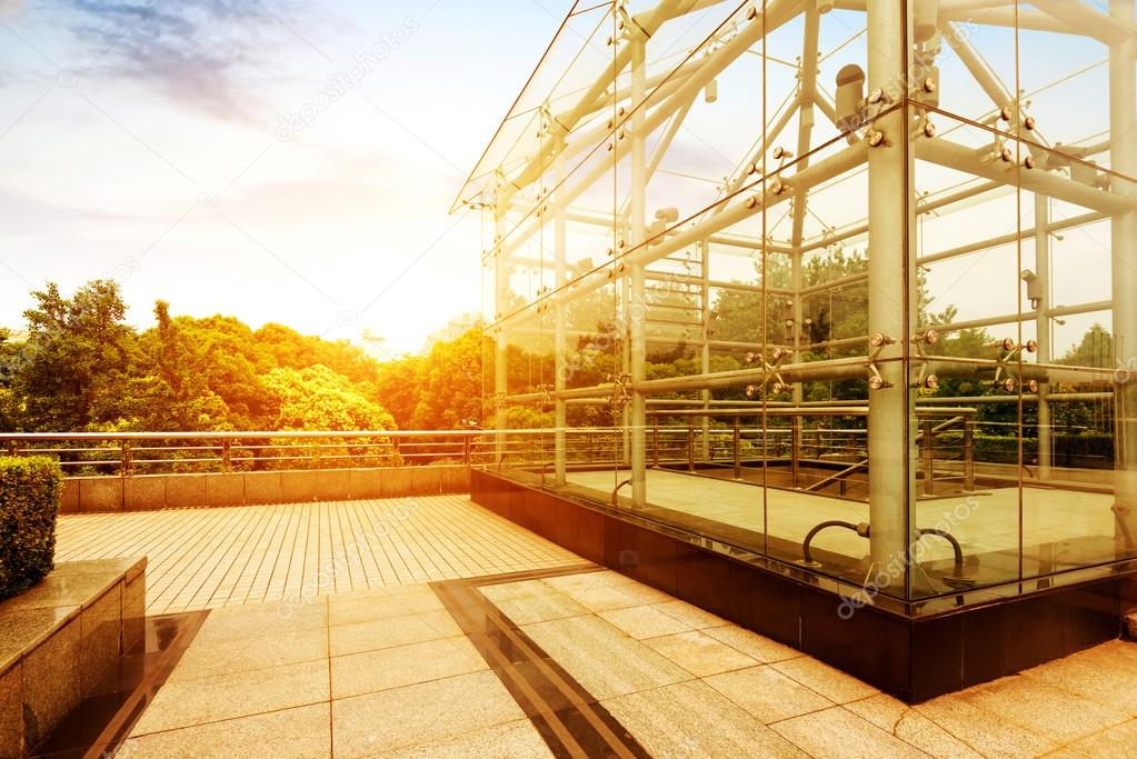 cabane de verre — Photographie gyn9037 © #48607587