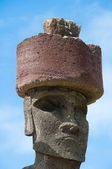 Moai Anakena Beach, Húsvét sziget, Chile