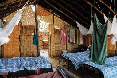 Cabin at North Lwanga National Park (Zambia)