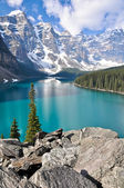 Fotografie Moraine Lake, Rocky Mountains (Canada)