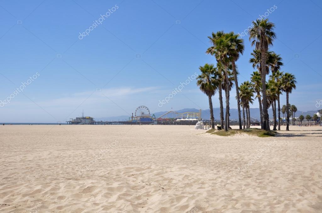 Santa Monica beach, California (USA)